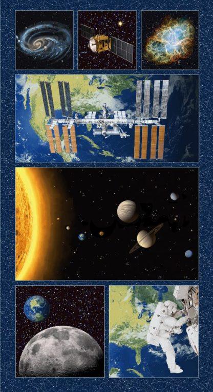 Planetary Missions - Large Block Panel- 5311P-79 Multi