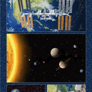 Planetary Missions - Large Block Panel- 5311P-79 Multi