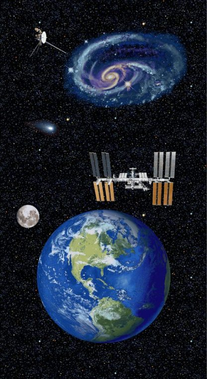 Planetary Missions - Earth Panel- 5312P-97 Multi