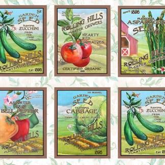 Blissful Bounty - Digital - Seed Blocks - 1329-01
