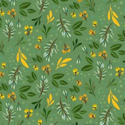 Gnome Sweet Gnome - Garden Leaf - DC9610-GREE-D