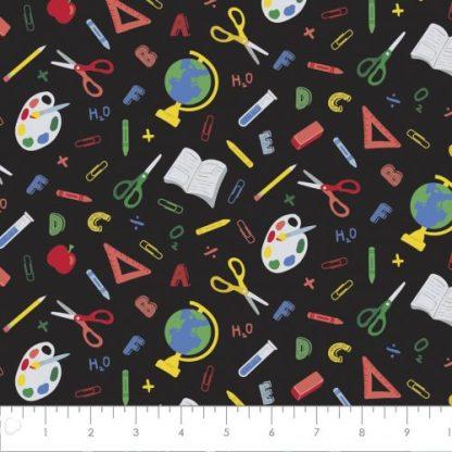 Camelot Fabrics - Teachers Rule - Back to School
