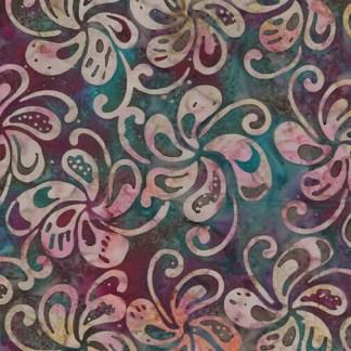 Bali - Petal Play - Spinning Petals - Cranberry Multi - 9163-28
