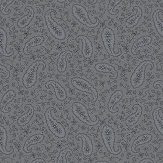 "Mayfair 108"" Wide - by Blank Corp - Grey on Grey - 1095-95"