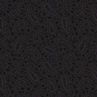 "Mayfair 108"" Wide - by Blank Corp - Black on Black - 1095-99"