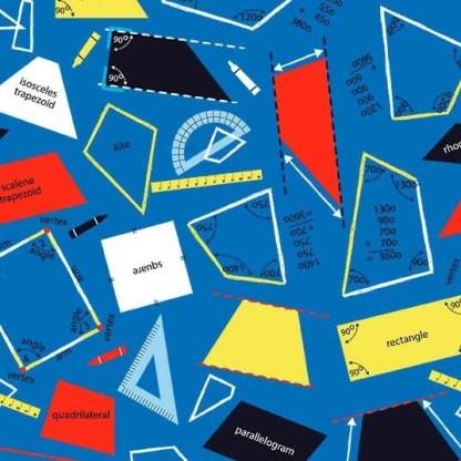 Stem Squad by Edward Miller - Geometry - dc9718_blue