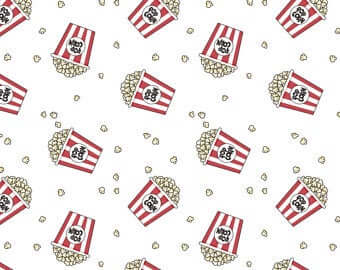 Pop by Camelot - White-Popcorn Bucket Toss