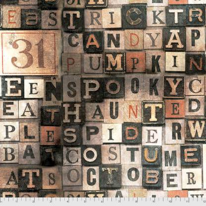Regions Beyond by Tim Holtz - Halloween - PWTH147.MULTI