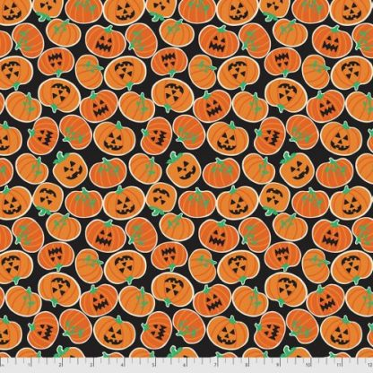 Boolicious by Maude Asbury for FreeSpirit - Pumpkin Bites - Black