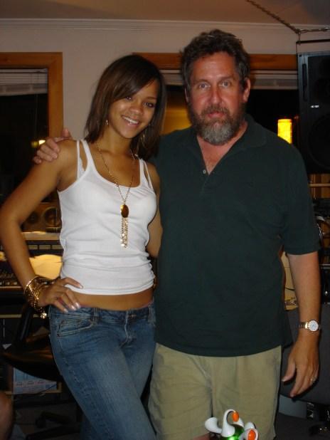 Al with Rihanna