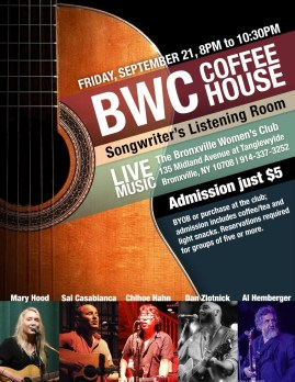 Sept 2018 coffeehouse