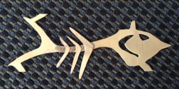 Mr Zazzy Fish - 11 ribs soldered