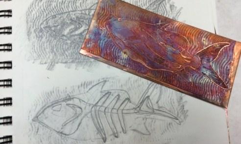 Mr Zazzy Fish - sketches