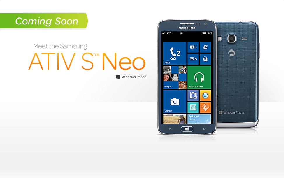 Samsung ATIV S Neo Wp8