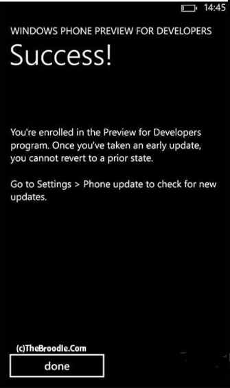 Installing Windows Phone 8.1