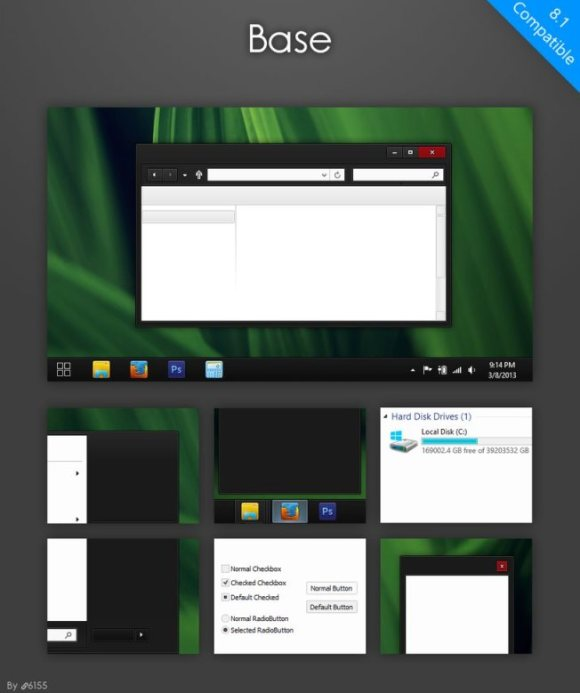 Base Theme for Windows 8 and 8.1