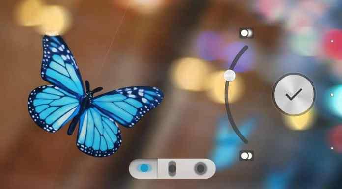 Controlling Focus With Sony Background DeFocus App
