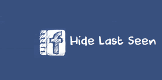 Hide Last Seen From Facebook
