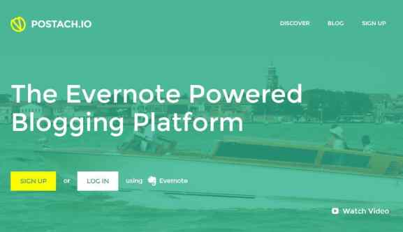 Postach.io - Blogging Platform by Evernote