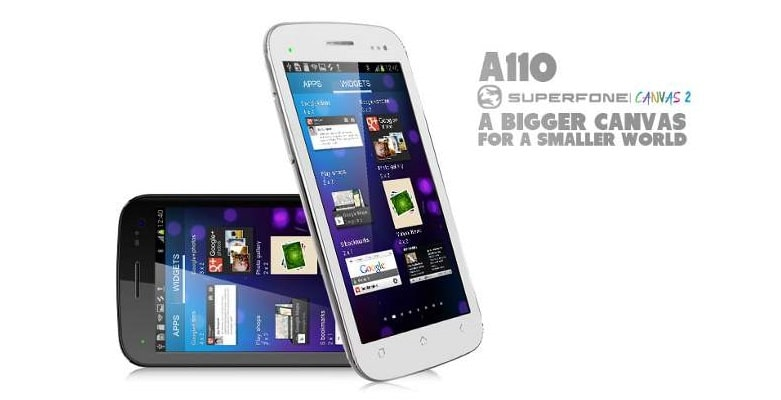 Micromax A110 Canvas 2 CWM and Root