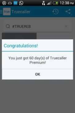 Premium Account in TrueCaller