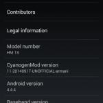CM11 ROM For Xiaomi Redmi 1S (5)