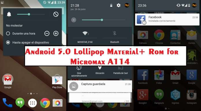 Material+ rom for micromax a114