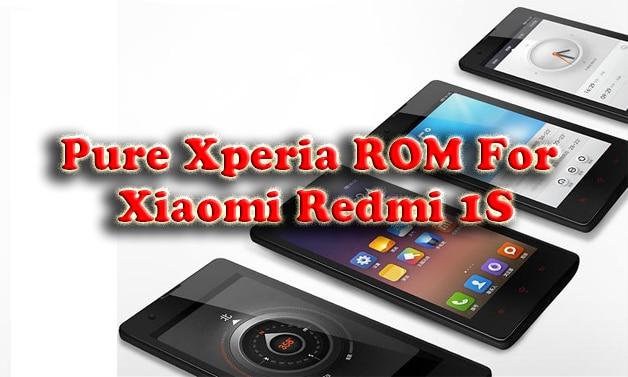 Sony Xperia Rom for Xiaomi Redmi 1S