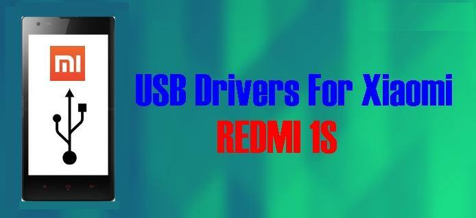USB Drivers for Xiaomi Redmi 1S