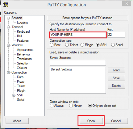 SSH With Putty