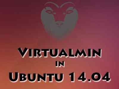Virtualmin Installation in Ubuntu 14.04