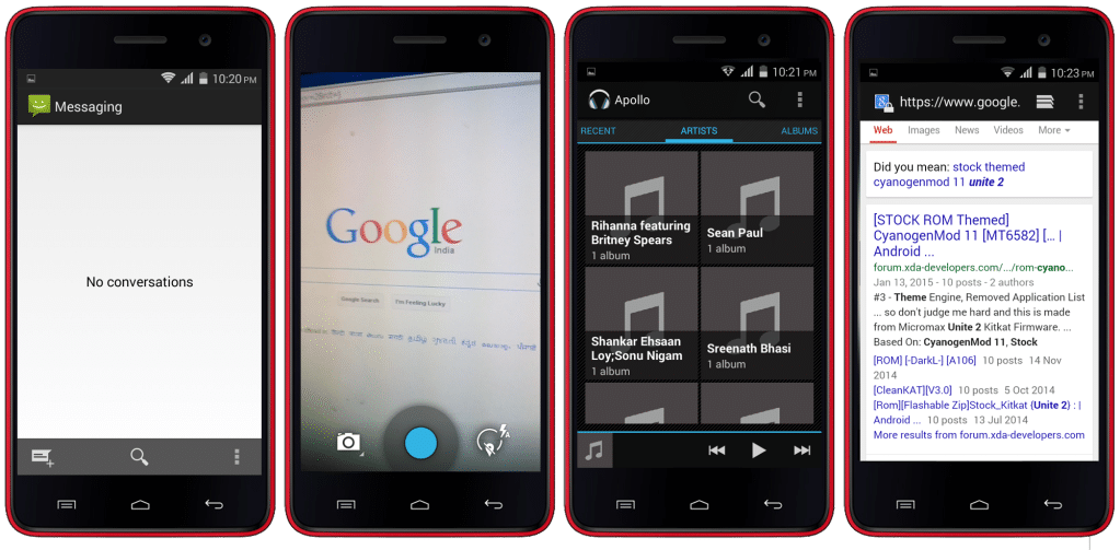 CM11 Based Cynite Ultra ROM For Micromax A106 Unite 2 Android 4.4