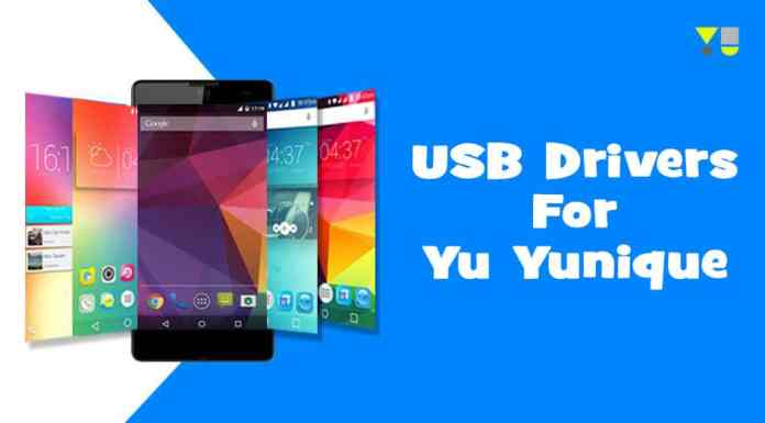 USB Drivers for Yu Yunique