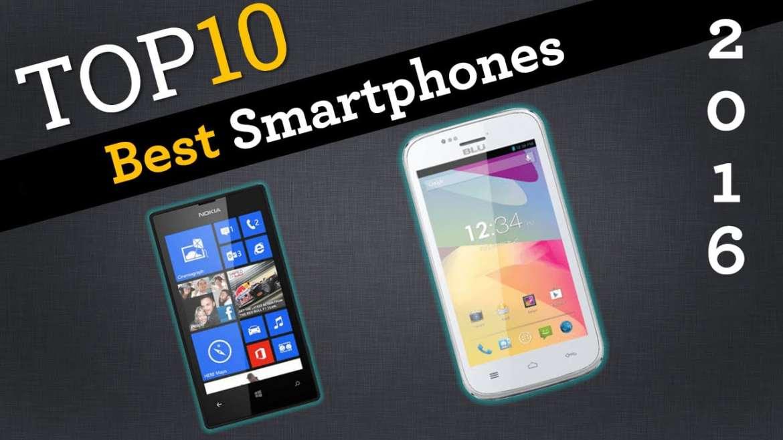 top 10 best smartphones of 2016