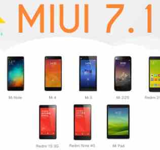 Official MIUI 7.1 Update for Xiaomi Devices
