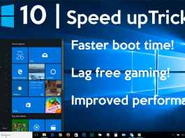 improve windows 10 speed