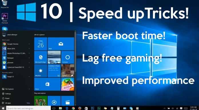 improve windows 10 speed