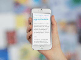 Best Writing App for iPhone