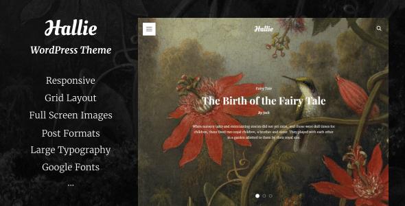 Hallie WordPress Theme