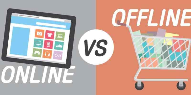 Online vs Offline Shopping - Shop Online