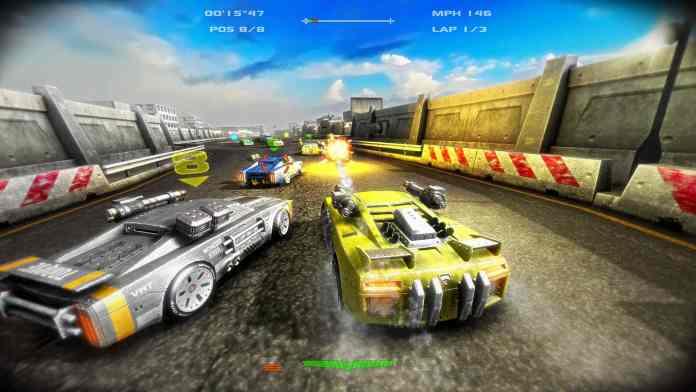 Combat Racing Games