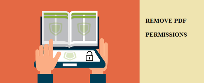 unlock protected PDF document