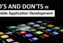 Do's and don'ts in mobile app development