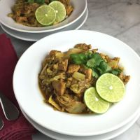 Napa Cabbage Curry