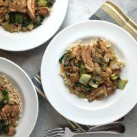 Stir-Fried Chicken & Bok Choy