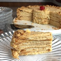 My Mother-In-Law's Napoleon Torte