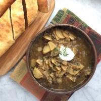 Caramelized Leek & Potato Soup