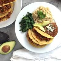Oaxacan Pork Picadillo Tacos
