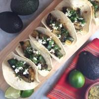 Zucchini & Black Bean Tacos