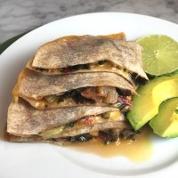 Greens & Cheese Quesadillas